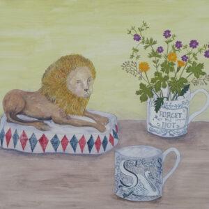 Staffordshire Lion