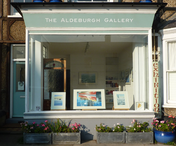 Aldeburgh Gallery window